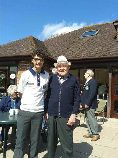 Mayor of Bournemouth Visit - Knyveton Gardens Bowls Club